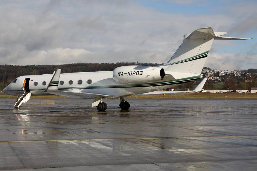 Slide in Russian business aviation traffic confirmed