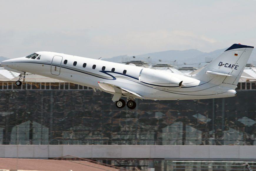 Cessna Citation production shift
