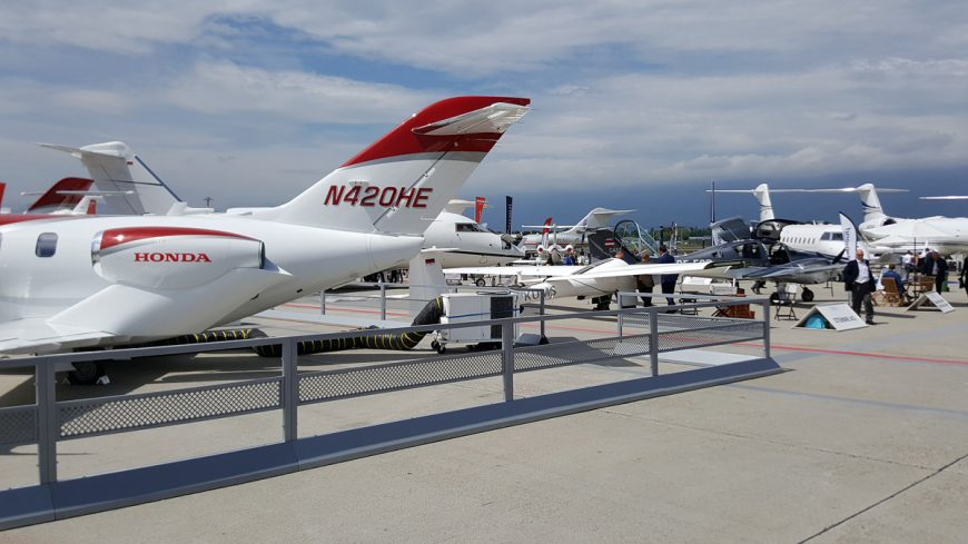 HondaJet makes ABACE debut