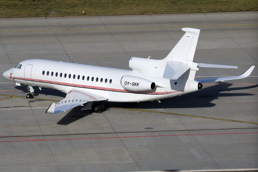 Dassault unveils new Falcon