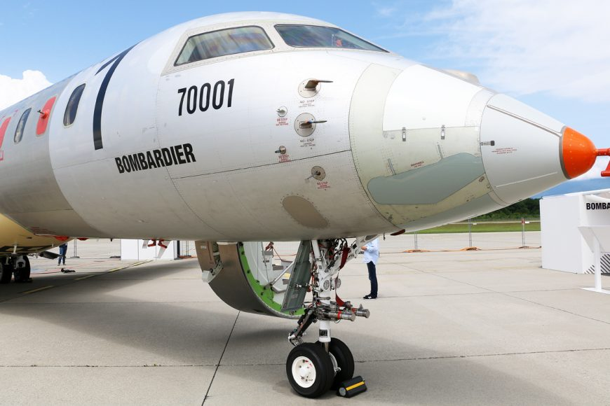 Bombardier grabs the EBACE headlines