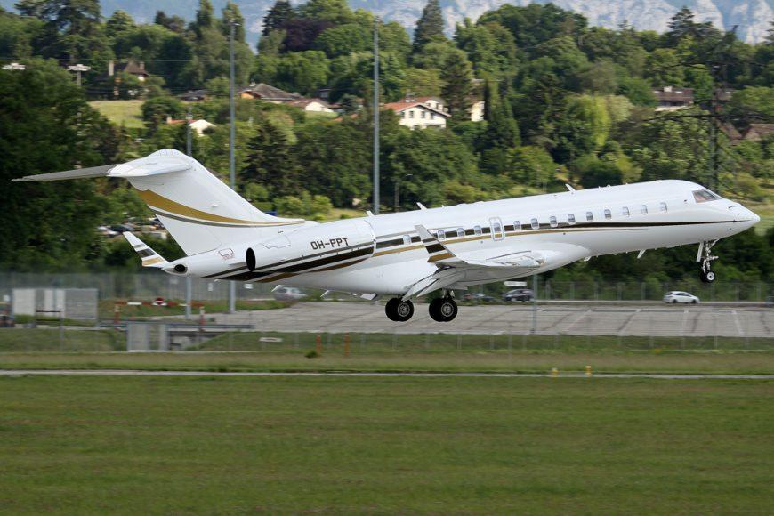 Bombardier large cabin market share