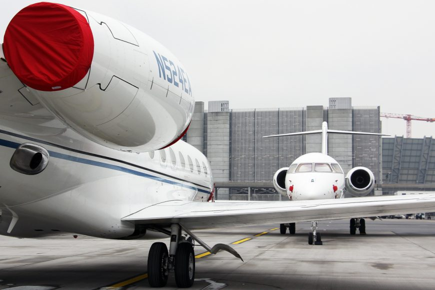 WEF 2019 – government aircraft thin on the ground